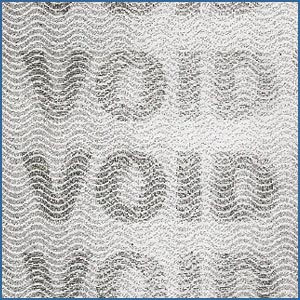 void watermark paper